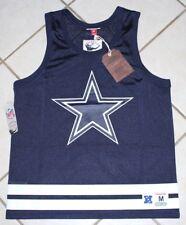 $85 NEW Dallas Cowboys MITCHELL & NESS Mesh Tank Shirt Mens S M L Blue Jersey