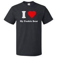 I Love My Pookie Bear T shirt I Heart My Pookie Bear Tee