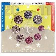 France 2011 - Official (BU) Euro Coin Set **RARE**