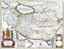 Reproduction carte ancienne - Perse (Iran) en 1664 (Persia)