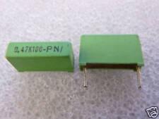 2 condensateurs 0,47uF 470nF 100V Roederstein MKT1822