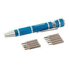 Silverline 633922 Tournevis de précision 9 pcs 110 mm