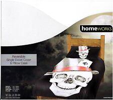 Gotico Teschio Asso di Picche & Sailor Jerry Tatuaggi reversibile piumino singolo set