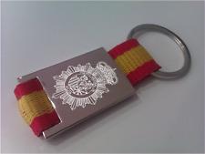 Llaveros de la Policía Nacional con la bandera de España