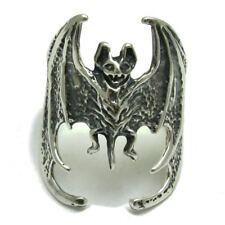 R000492 STERLING SILVER RING SOLID 925 BAT VAMPIRE