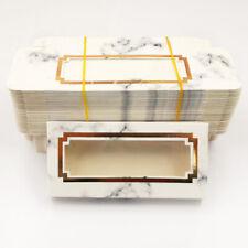 wholesale lashes box 50 pcs soft paper eyelashes packaging for false eyelashes