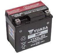 Batterie Moto CAGIVA 125 SM125 Yuasa YTX5L-BS  12v 4Ah