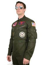 Top Gun Maverick / Goose Costume + Sunglasses Party Men Flight Suit jumpsuit
