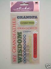 STICKO EPOXY STICKERS - GRANDPA Grandfather