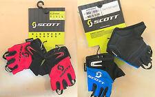 Guanti SCOTT bimbo bambino kid gloves bike children bici ciclismo rossi blu red