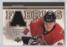 2003-04 Upper Deck Franchise Fabrics MH Marian Hossa Ottawa Senators Hockey Card