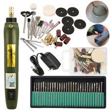 Electric Engraving Pen Engraver Jewelry Wood Carving Polishing Tool+30Pcs Drills