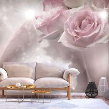 Vlies Fototapete Rose Blumen Bokeh Tapete xxl Wandbild b-C-0200-a-a