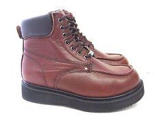 "Vegace - La Vega Men 6"" Insulated Brown Leather Landscape Work Boot Moc Toe 7135"