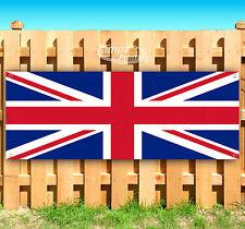 """United Kingdom Flag Advertising Vinyl Banner Flag Sign 15"""" 18"""" 20"""" 30"""" 48"""" 52"""""""