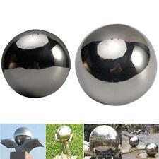 Us Stainless Steel Sphere Garden Ornament Mirror Gazing Globe Floating Ball