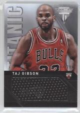 2013-14 Panini Titanium Titanic Threads Jumbo #78 Taj Gibson Chicago Bulls Card