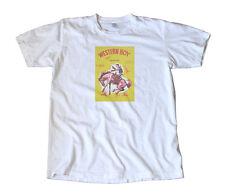 Vintage Western Boy Firecracker Label T-Shirt