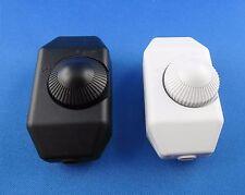 Schnur Dimmer für Glühlampen Halogen und Niedervolthalogenlampen 250VAC bis 100W