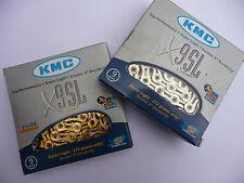 KMC X9-SL 9 vitesse chaîne vélo de montagne route vélo mtb super light 116 liens x9SL
