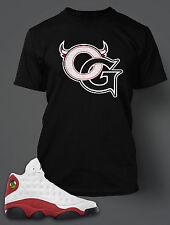 OG T Shirt to Match Air Jordan 13 Shoe Pro Club Graphic  Black Tee SS Sm-10 XL