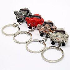 Schlüsselanhänger - Bremse Chrom Anhänger Metall Bremsanlage Auto Schlüssel