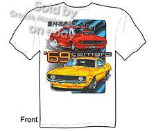 1969 Camaro T-shirt, 69 Camaro Shirt, Street Smart Tee, Sz M L XL 2XL 3XL, New