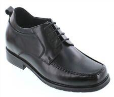 CALTO T52714 - 3.2 Inches Elevator Height Increase Moc Toe Square Toe Dress Shoe