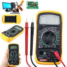 Digital LCD Multimeter Voltmeter Ammeter Ohmmeter Volt AC DC Meter Tester XL830L