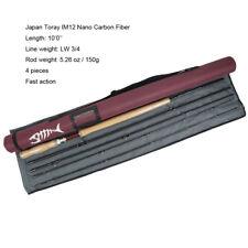 Aventik Fly Fishing Rods 10'0'' LW3/5/7/9 IM12 Nano Carbon Fiber Fast Action