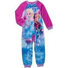 Disney Frozen No Feet Blanket Sleeper Pajamas Size's 7/8 - 10/12 NWT