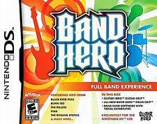 "Nintendo DS, Band Hero  ""Full Band Experience"" Brand New"