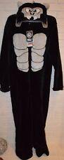 Men's Ape Monkey One Piece Hoodie Pajama Lounge Sleep Suit Sizes S, M, L, XL, 2X