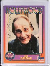 Sid Caesar Dual Signed Starline Hollywood card