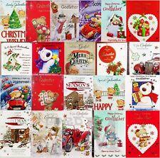 Godmother / Godfather Christmas Card - Various Designs