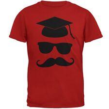 Mustache Graduate Mens Graduation Adult Mens T-Shirt