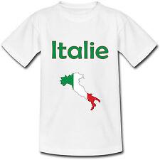 T-shirt Adulte Carte Italie - du S au 2XL
