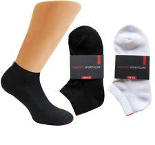 3 - 6 -12 - 24 PAAR Damen Dameris Sneaker Socken Sportline Frotteesohle 9180