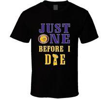Just One Before I Die Minnesota Football Team T Shirt