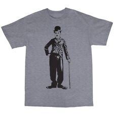 Charlie Chaplin Camiseta 100% algodón la Tramp El gran dictador El Niño