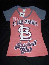 5th & Ocean Womens St Louis Cardinals Shirt NWT