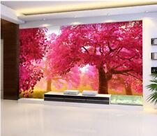 3D Maple Trees 062 WallPaper Murals Wall Print Decal Wall Deco AJ WALLPAPER