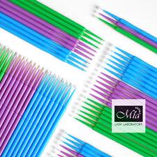 1.0/1.5/2.0 Disposable Micro Brush Applicator Eyelash Extension Medical Grade