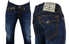 True Religion Jeans Men's Ricky Super T rust brown combo Assasination M24859R98