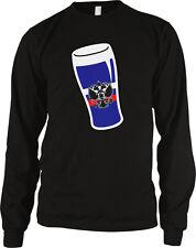 Russian Pint Beer Glass Flag Colors Russia Coat Arms Mug Of RUS RU Men's Thermal