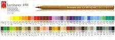 CARAN D'ACHE LUMINANCE 6901 SINGLES highest quality artist pencils PART ONE