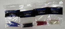 Winmau Nylon Spring Dart Shafts Short Pack of 3 Darts Stems White Black Red Blue