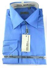 Camicia classica uomo Cool Man manica lunga collo classico art 284