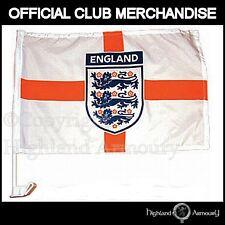 CAR FLAG ENGLAND FA FOOTBALL WORLD CUP ST GEORGE  NEW
