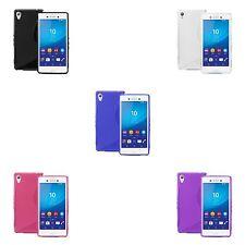 Funda para Sony Xperia M4 Aqua Gel DE SILICONA S-LINE en varios colores FUNDA